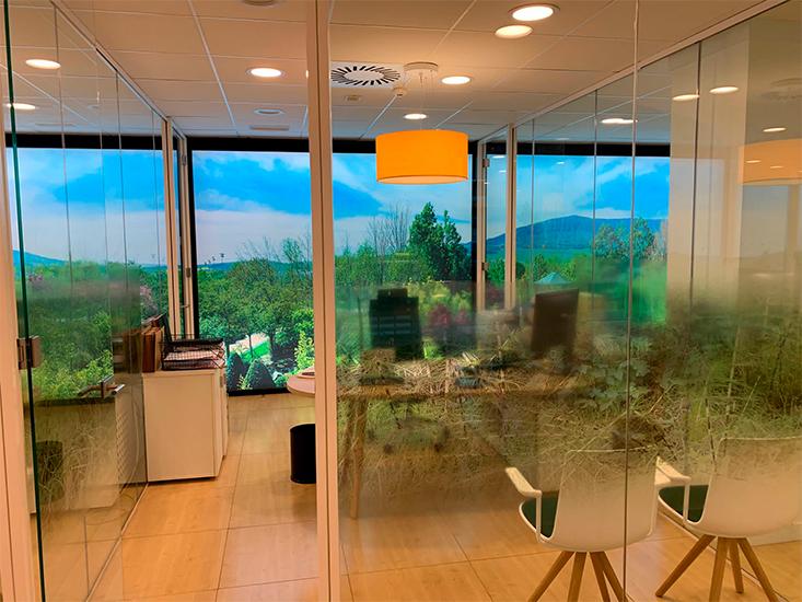 02 reforma oficina en Noáin navarra de local